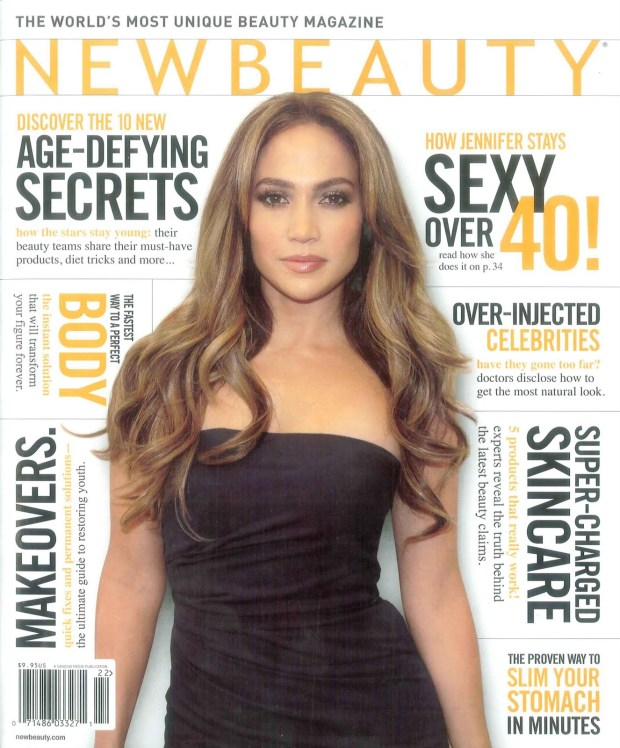 NewBeauty Spring 2011 Cover