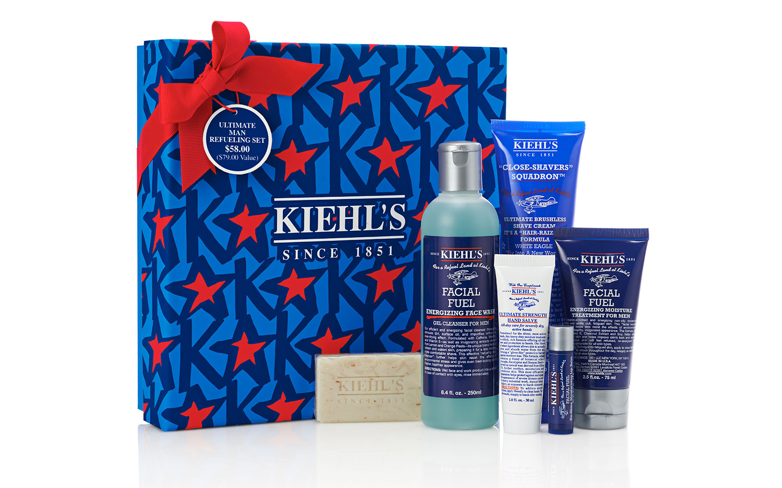 Gallery images and information: Kiehls Men
