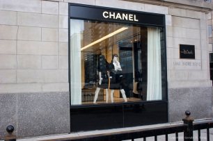Chanel Window Display at The Drake Hotel in Chicago Illinois 706130